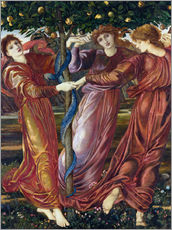 Edward Burne-Jones - Garden of the Hesperides, 1869-73