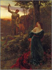 Sir Frank Dicksee - Chivalry, 1885