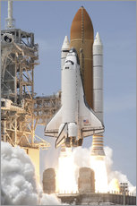 Space shuttle Atlantis startet