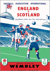 Sporting Frames - england vs scotland 1953