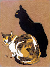 Thophile-Alexandre Steinlen - Zwei Katzen