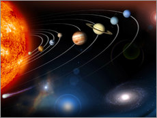 our solar system and points beyond