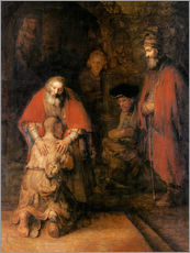van Rijn Rembrandt - Return of the Prodigal Son