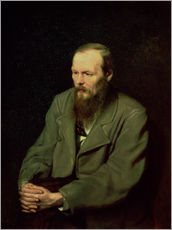 Vasili Grigorevich Perov - Portrait of Fyodor Dostoyevsky