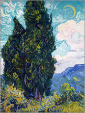 Vincent van Gogh - Cypresses