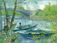Vincent van Gogh - Fishing in the Spring, Pont de Clichy