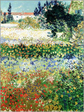 Vincent van Gogh - Garten in Bloom, Arles
