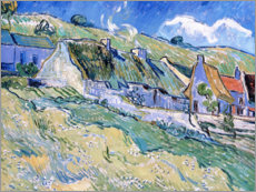 Vincent van Gogh - Htten in Auvers-sur-Oise