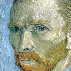 Vincent van Gogh - Self portrait (detail) 
