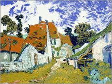 Vincent van Gogh - Strae in Auvers-sur-Oise