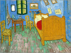 Vincent van Gogh - Van Gogh's Schlafzimmer in Arles