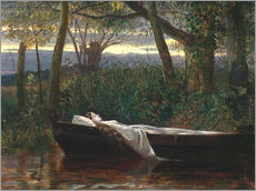 Walter Crane - The Lady of Shalott