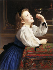 William Bouguereau - L'Oiseau chri