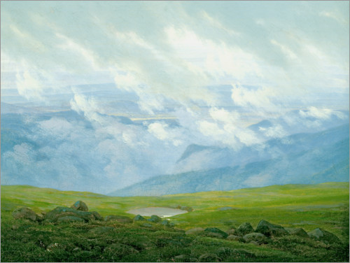 Caspar David Friedrich - Ziehende Wolken