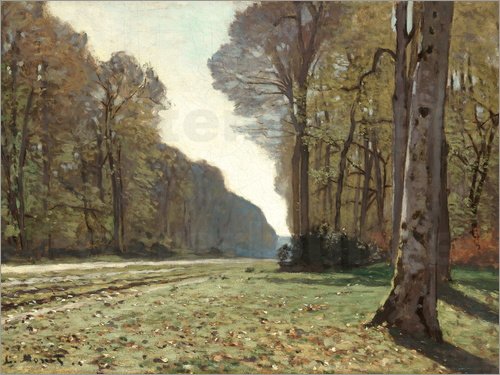Claude Monet - The Road to Bas-Breau