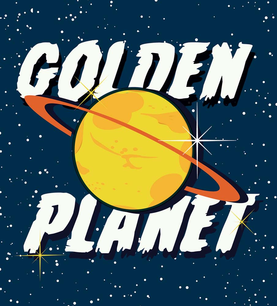 Golden Planet Prints