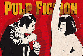Pulp fiction twist contest art
