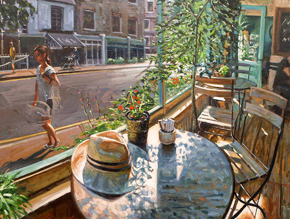 Johnny Morant - Greenwich Cafe