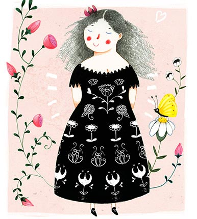 Judith Loske - Black Dress