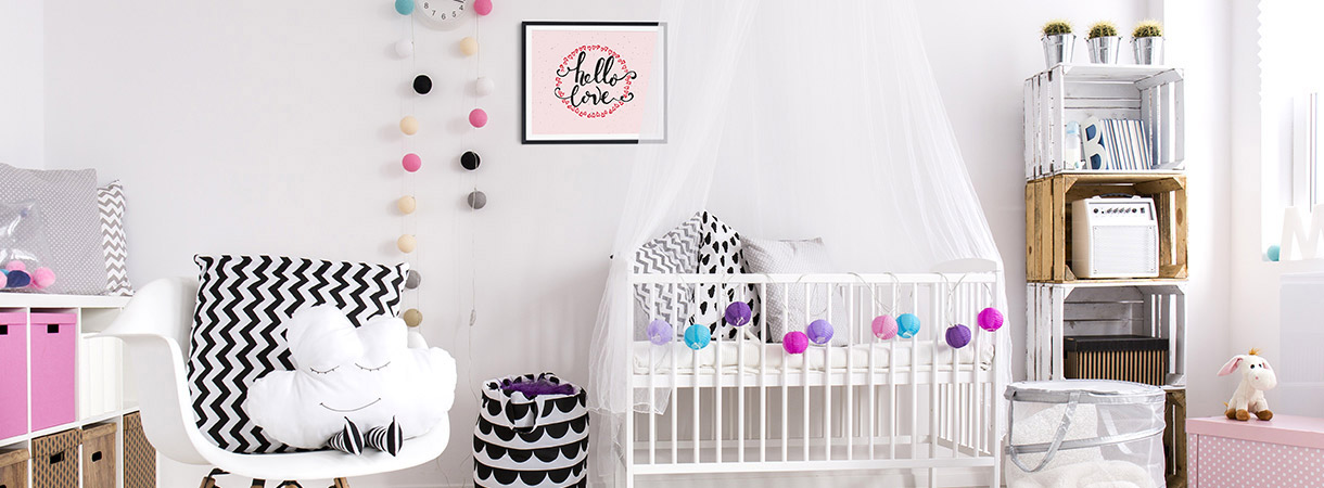 babyzimmer einrichten tipps diy f rs babyzimmer art living. Black Bedroom Furniture Sets. Home Design Ideas