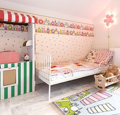 m dchenzimmer einrichten tipps diy f rs kinderzimmer. Black Bedroom Furniture Sets. Home Design Ideas