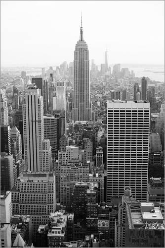 poster leinwandbild wolkenkratzer in new york city usa ebay. Black Bedroom Furniture Sets. Home Design Ideas