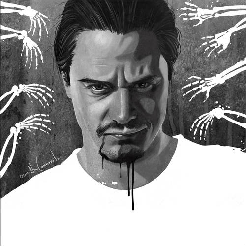 Wandsticker mike patton