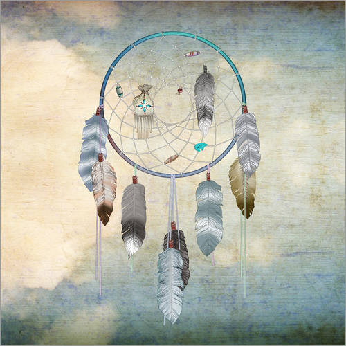 Wandsticker Dream Catcher
