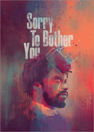 Premium-Poster Sorry To Bother You