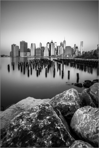Premium-Poster Skyline von New York City