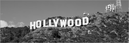 Premium-Poster Hollywood Sign in Los Angeles, Kalifornien