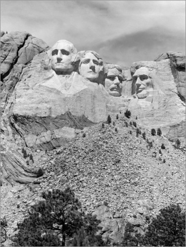 Premium-Poster Mount Rushmore in South Dakota