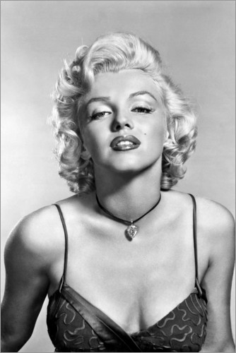 Premium-Poster Marilyn Monroe – sexy Porträt