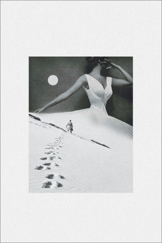 Premium-Poster Keep walking