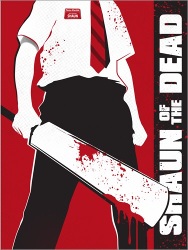 Premium-Poster Shaun of the dead - alternatives Design