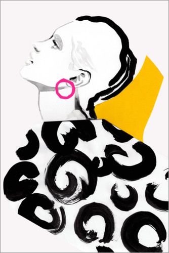 Premium-Poster Pop Art Fashion