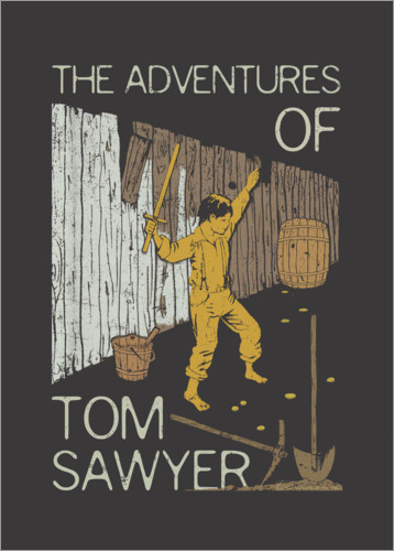 Premium-Poster Tom Sawyer