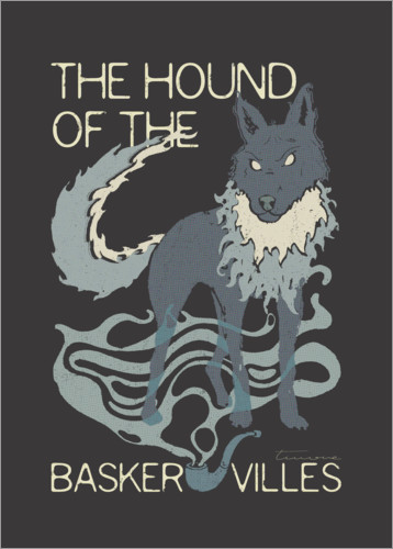 Premium-Poster The Hound of the Baskervilles