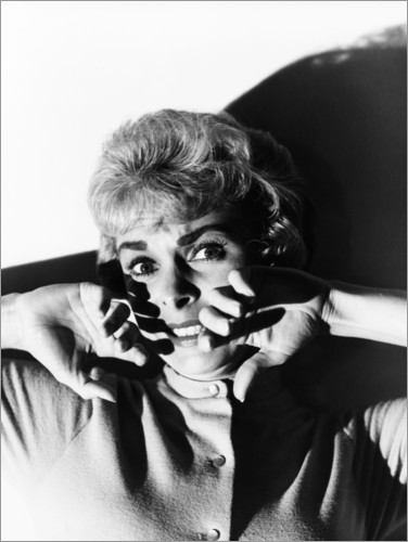 Premium-Poster Psycho, Janet Leigh