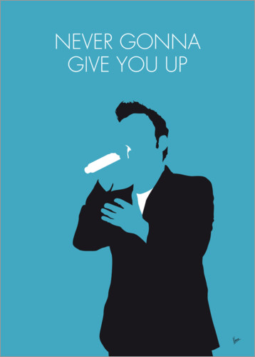 Premium-Poster Rick Astley - Never Gonna Give You Up