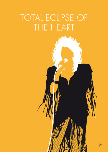 Premium-Poster Bonnie Tyler - Total Eclipse Of The Heart