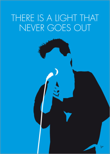 Premium-Poster The Smiths - There Is A Light That Never Goes Out