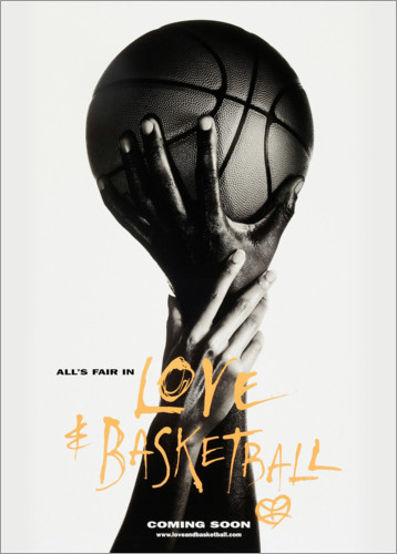 Premium-Poster Love & Basketball