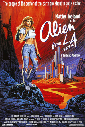 Premium-Poster Alien from L.A.