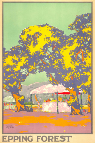 Premium-Poster Epping Forest