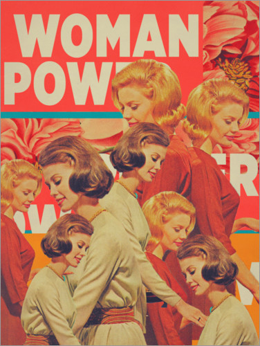 Premium-Poster Woman Power