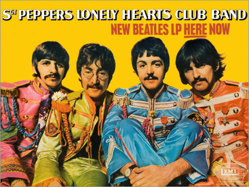 Premium-Poster Sgt. Pepper's Lonely Hearts Club Band
