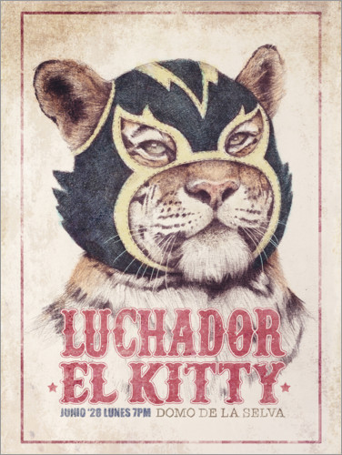 Premium-Poster El Kitty
