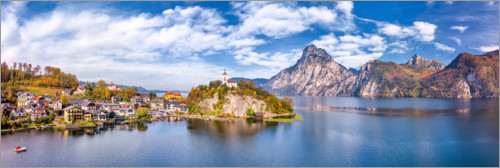 Premium-Poster Traunkirchen am Traunsee