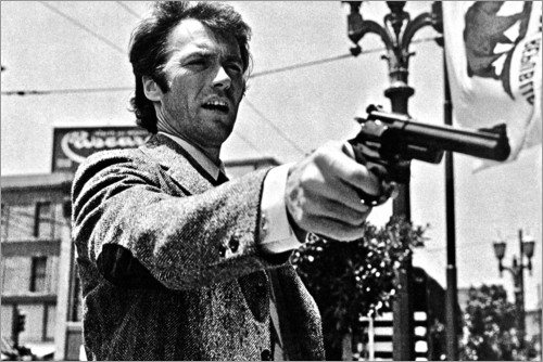 Premium-Poster Clint Eastwood in Dirty Harry